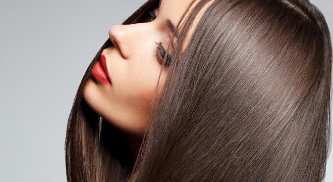 Кератиновое восстановление волос с эффектом выпрямления