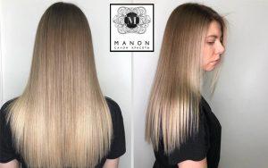 Air-touch окрашивание волос