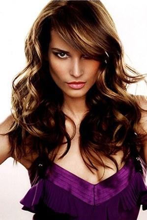 окрашивание длинных волосы
