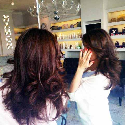 Окрашивание волос CHI