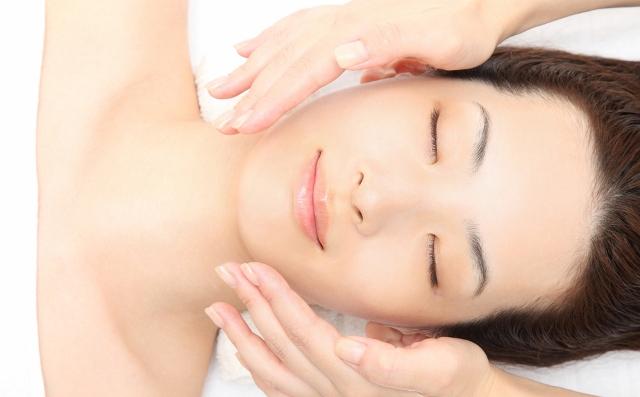 Японский массаж лица асахи
