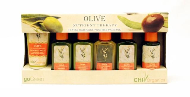 SPA уходы для волос CHI olive