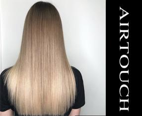 Airtouch окрашивание волос